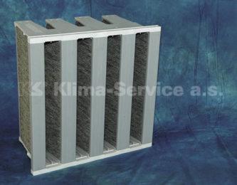 Адсорбционные фильтры для отделения газообразных вредных веществ и запахов